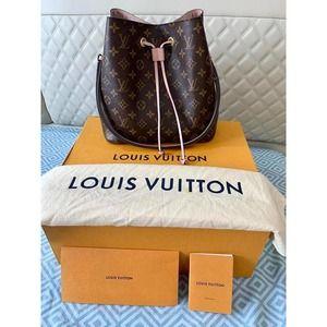 💎✨RARE💎✨L.V Monogram Canvas Leather Shoulder Bag
